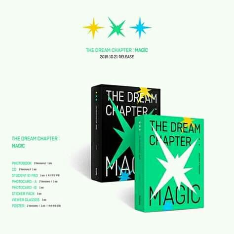TXT(TOMORROW X TOGETHER) - Album Vol.1 [The Dream Chapter : MAGIC] (Random Ver.)