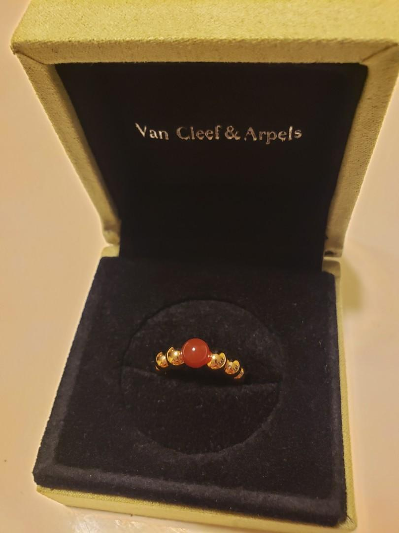 Van cleef and arpels ring Perlée couleurs variation戒指