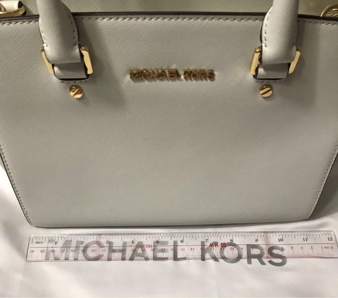 White Genuine Michael Kors Bag