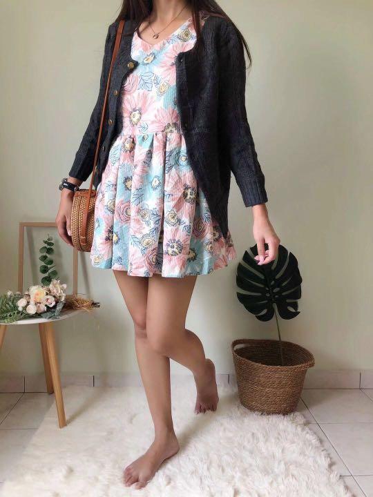 Women cardigan dress