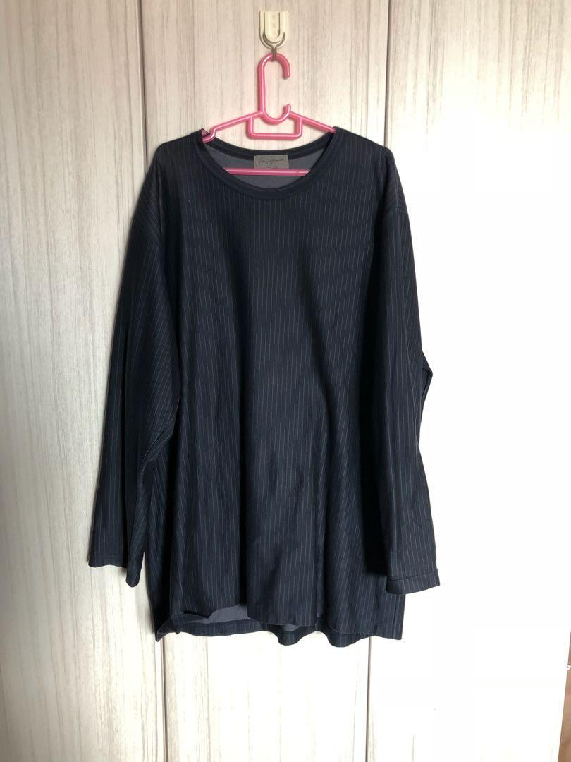 Yohji Yamamoto Pour Homme navy blue pullover