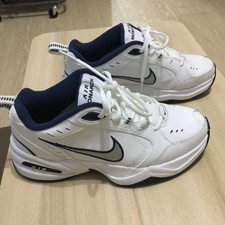 Nike Air Monarch 老爹鞋 灰白藍 415445-102