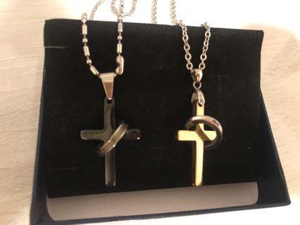 情侶十字項鍊