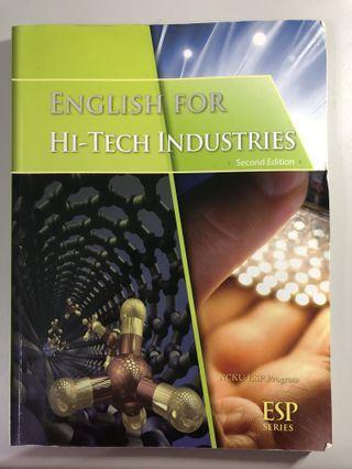 ESP|English for hi-tech industries