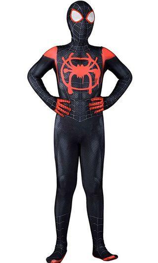 蜘蛛人衣服 #連身童裝 #新宇宙黑蜘蛛人#萬聖節變裝
