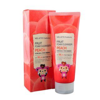 SPECIAl PRICE !!  MILATTE FASHIONY FRUIT FOAM CLEANSER - PEACH