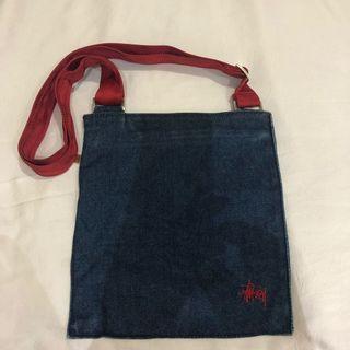 Stussy Denim Sling Bag