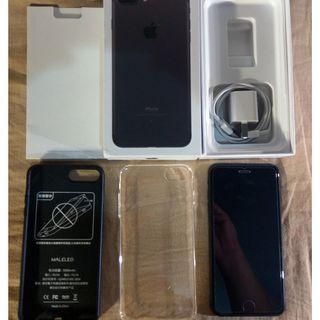 iPhone 7 plus 128g 曜石黑 MN4M2TA/A:A1784無刮無傷 送贈品 台北可面交