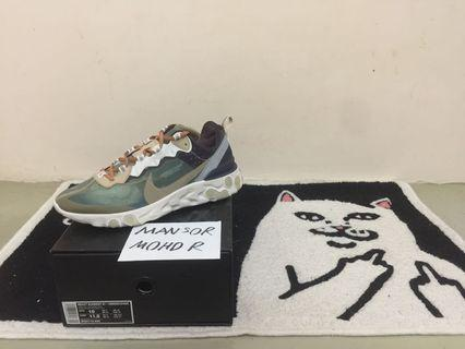Nike React Element 87 Under Cover Green Mist
