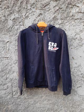 Evisu zip hoodie