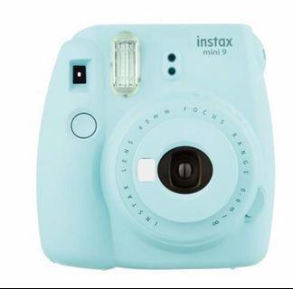 富士mini9拍立得 冰藍色