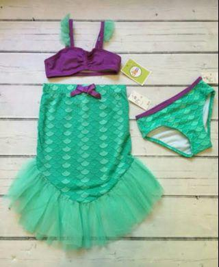 tankini mermaid 2in1