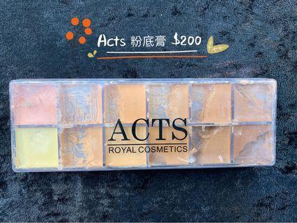 Acts 粉底膏
