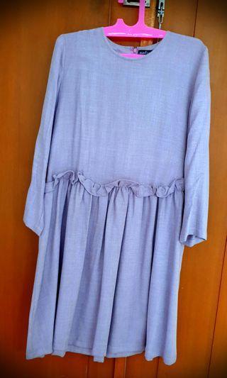 Nadjani tunik purple soft