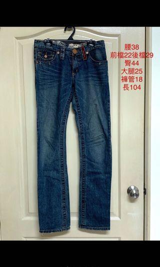 專櫃 BLUE WAY 直筒牛仔褲