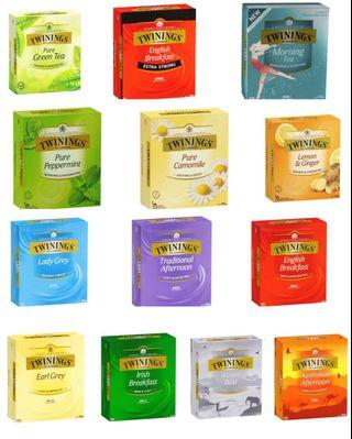 澳洲代購🦘只特價到10/8 Twinings 大包裝茶包
