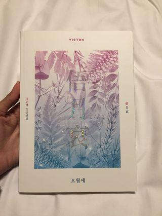 [WTS] Victon Time of Sorrow First Single Album (Full Set BYUNGCHAN)