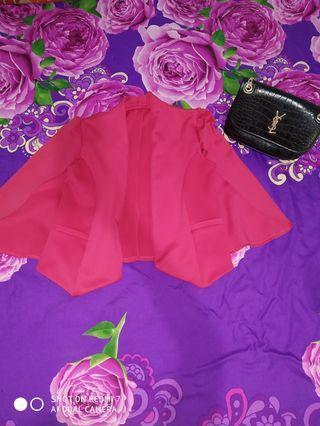 Blazer pink fushia