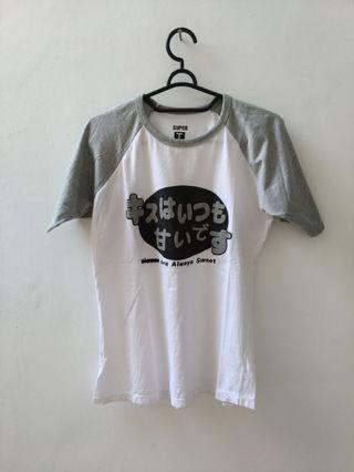 #VISITSINGAPORE T shirt karakter