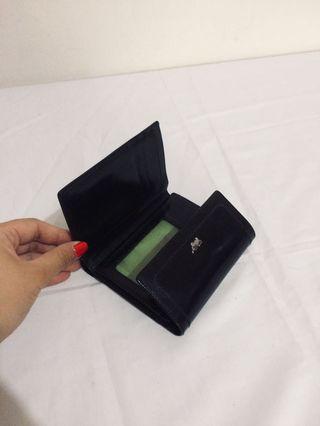 Braun Buffel-black minni wallet-dompet kecil