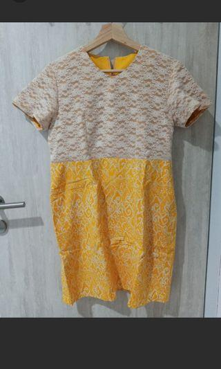 Dress Yellow Krem