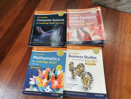 cambridge IGCSE textbooks