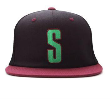 Stussy Vintage S  Snapback cap