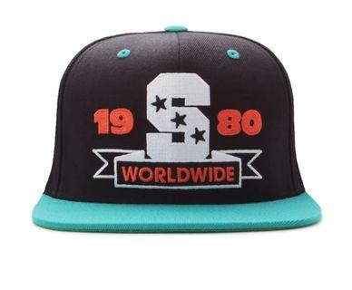 Stussy Worldwide S Snapback cap