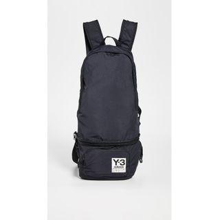 不敗時尚經典 ! Y3 精品頂級多功能 ~ 後背包、腰包~設計師限量款!(黑)