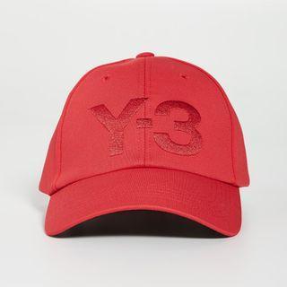 不敗時尚經典 ! Y3 棒球帽、鴨舌帽 ~ 限量變繡版 ! 囍紅 !
