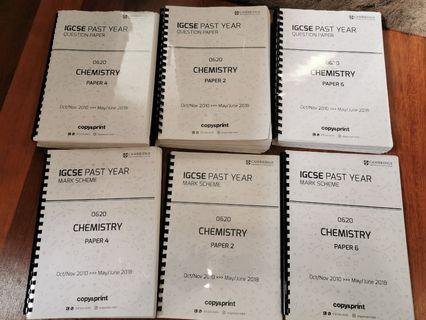 IGCSE Chemistry Past Year Papers 2,4&6