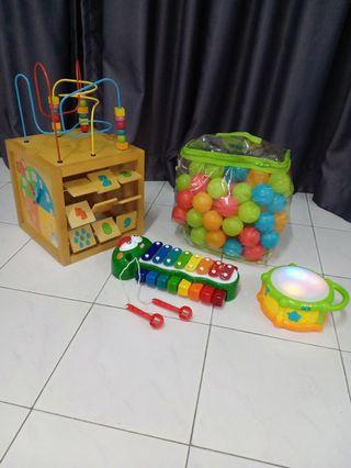 All in 100rm bundle toys/ moving out clearance / urgent sell