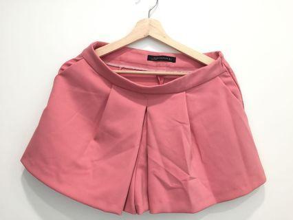 全新 Zara 粉色褲裙