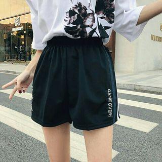 運動短褲 運動風 運動褲