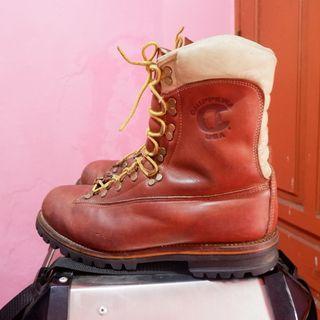 sepatu outdoor second atau sepatu boots vintage chippewa
