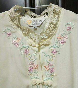 刺繡上衣 中國風