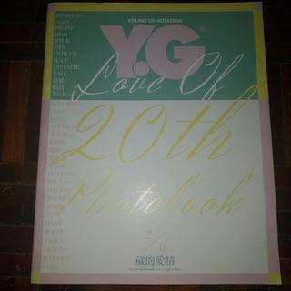 K pop YG Photobook