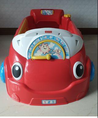 Fisher Price Laugh and learn crawl around the car