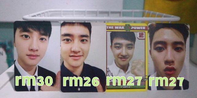 Kyungsoo official photocard