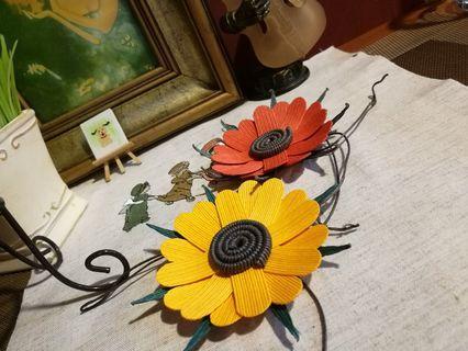 Handmade craft flower for decorative