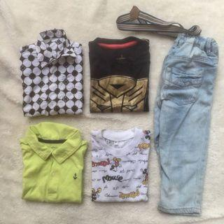 Jeans HnM And Shirt Set
