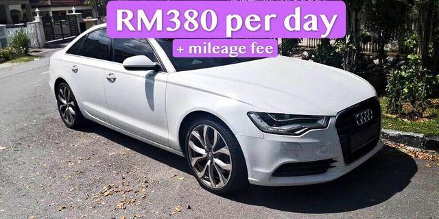 Rent a Audi A6 hybrid in KL