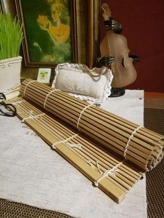 Japan Bamboo mat wooden table top