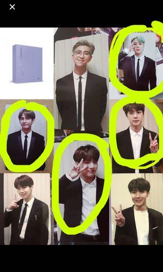 (WTB/LF) BTS OFFICIAL PHOTOCARDS