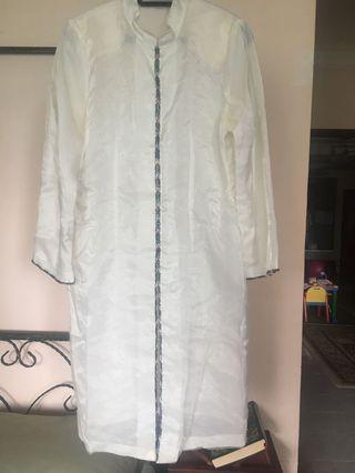 White Organza Kebaya Top