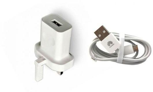 100% Genuine Huawei Super Fast Plug Charger+1 Huawei cable