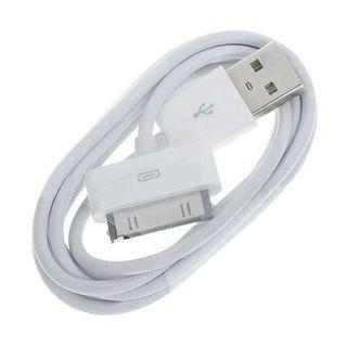 100% Original APPLE 30pin cable for Iphone 4 and below