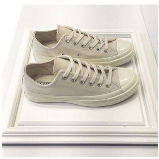 Converse 1970 米白色 米色 低筒 復古款 帆布鞋 奶油底 三星標 162211c