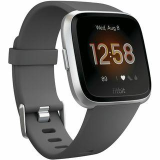 Fitbit Versa Lite Smart Watch - Charcoal Silver NEW, SEALED