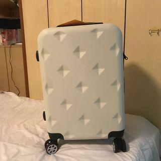 Aaplus 全新白色行李箱20寸